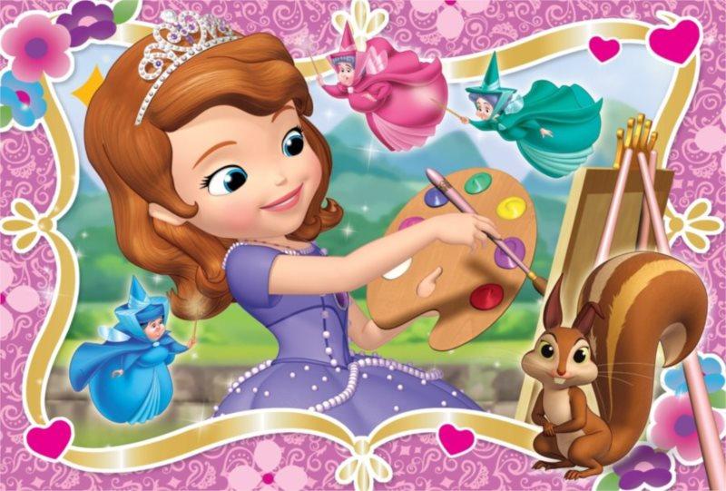 Dětské puzzle 30 dílků - Princezna Sofie První