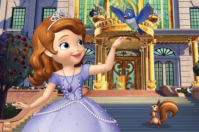 TREFL Puzzle Princezna Sofie První: Před palácem 60 dílků