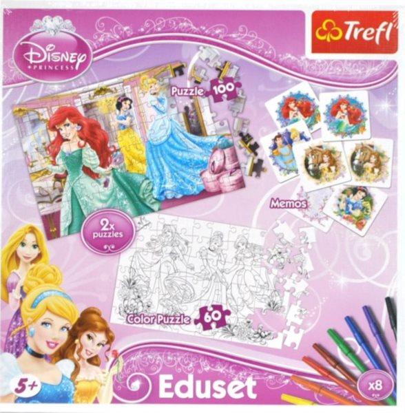 TREFL Puzzle Princezny + pexeso