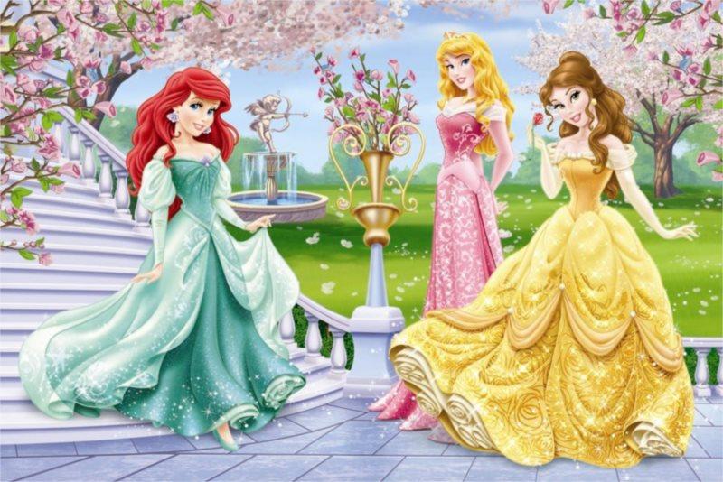 DINO Puzzle Princezny u fontány 66 dílků