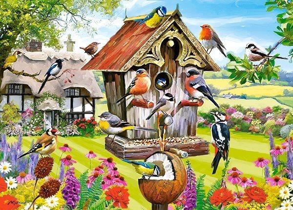 CASTORLAND Puzzle Ptačí budka 180 dílků