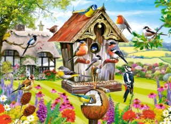 CASTORLAND Puzzle Ptačí budka 300 dílků
