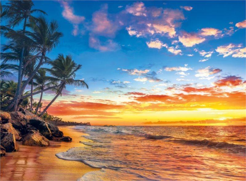 CLEMENTONI Puzzle Rajská pláž 500 dílků