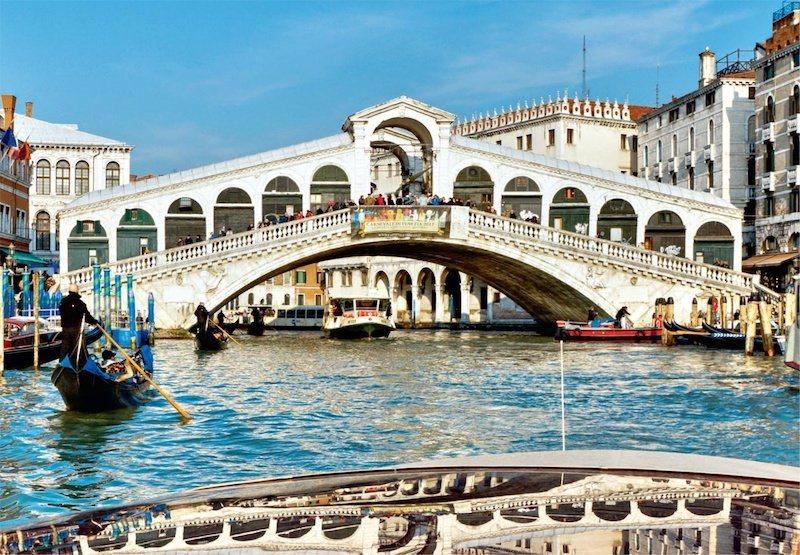 JUMBO Puzzle Rialtský most, Benátky 1000 dílků