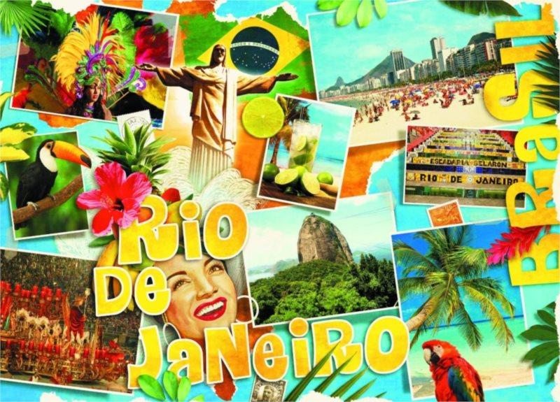 SCHMIDT Puzzle Rio de Janeiro 3000 dílků