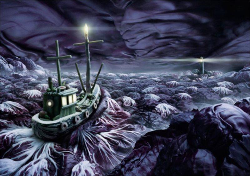 Puzzle SCHMIDT 1000 dílků - Rozbouřené moře