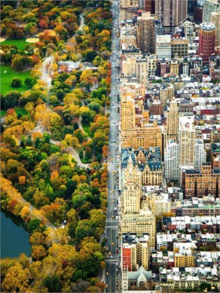 Puzzle RAVENSBURGER 16254 Rozdělené město, New York 1500 dílků