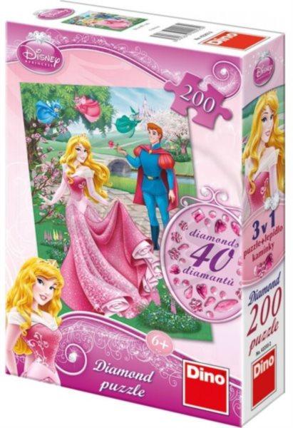 Dino Toys puzzle Šípková Růženka diamon dílků 200 dílků