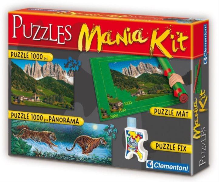 CLEMENTONI Puzzle sada Mania Kit III.