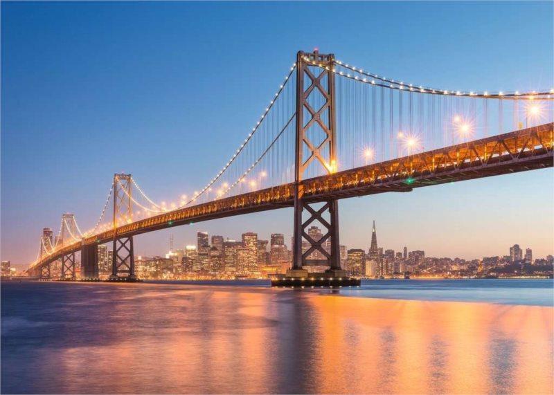 RAVENSBURGER Puzzle San Francisco, USA 1000 dílků