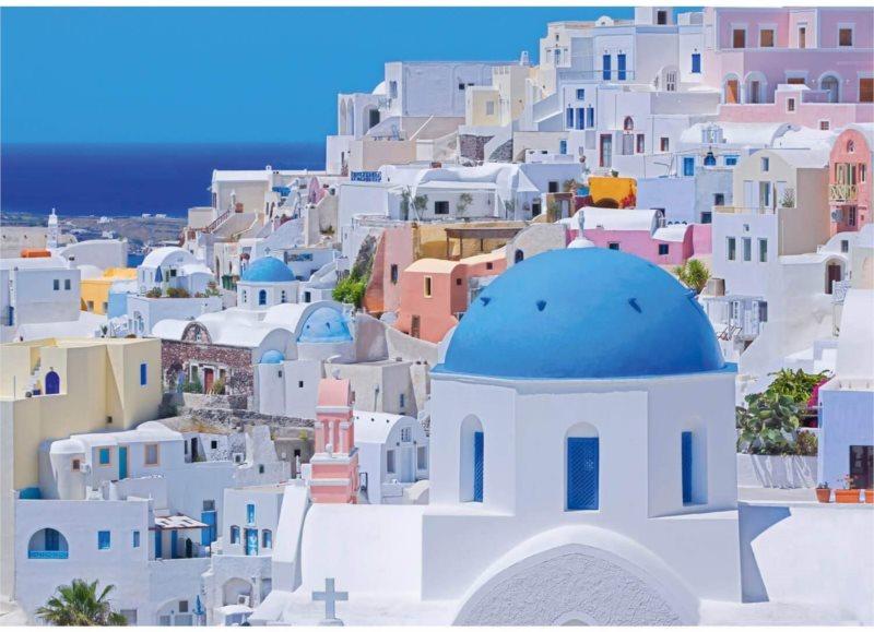 SCHMIDT Puzzle Santorini 1000 dílků