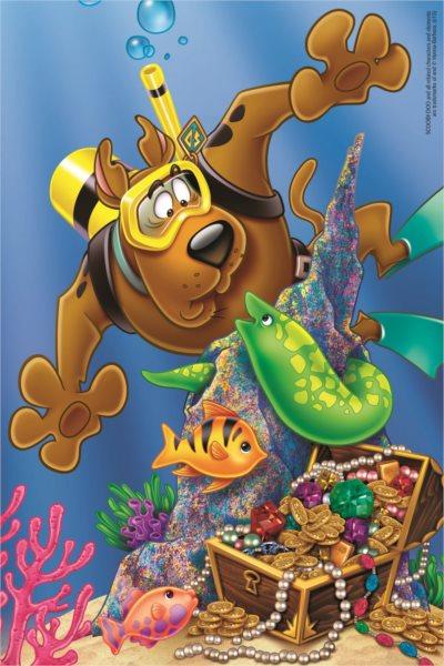 TREFL Puzzle Scooby Doo: Potápění 60 dílků