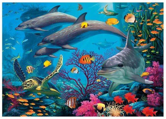 DINO Puzzle Secret Collection: Podmořský svět 1000 dílků