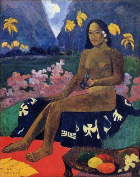 Puzzle EDITIONS RICORDI 1000 dílků - P. Gauguin: Semínko z Areoi