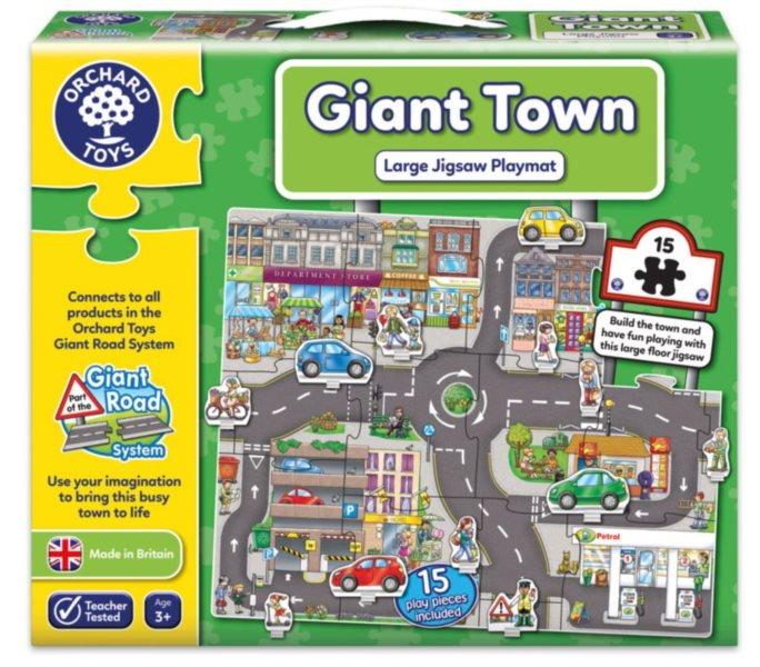 ORCHARD TOYS Hrací puzzle Město