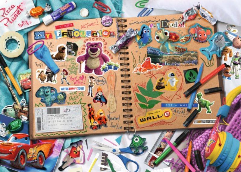 RAVENSBURGER Puzzle Skicák Disney Pixar 1000 dílků