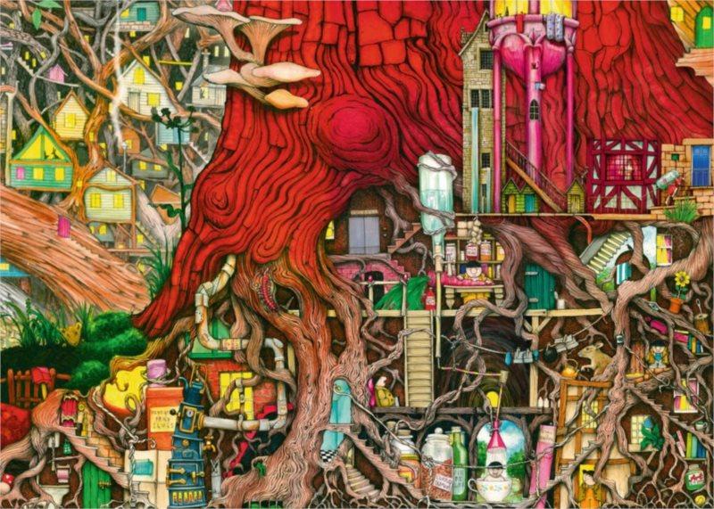 RAVENSBURGER Puzzle Skrytý svět 1000 dílků