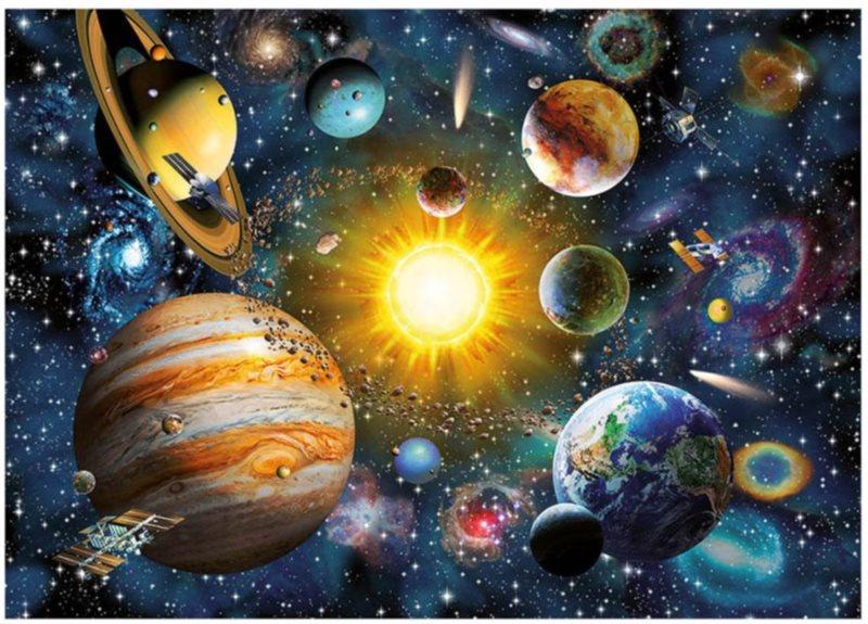 DINO Puzzle Sluneční soustava 2000 dílků