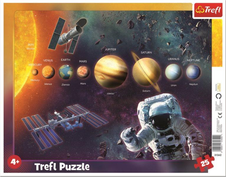 TREFL Puzzle Sluneční soustava 25 dílků