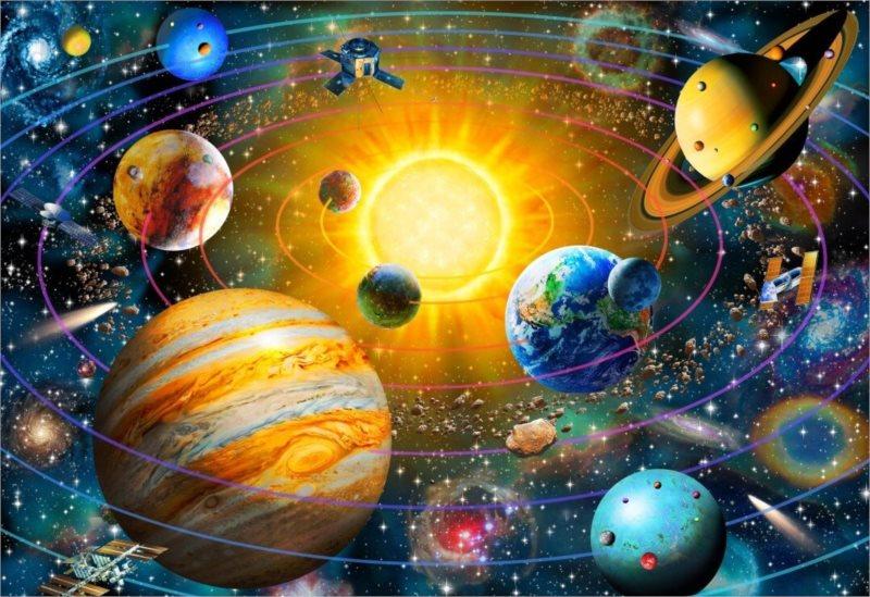 BLUEBIRD Puzzle Sluneční soustava 260 dílků