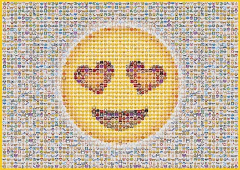 Puzzle SCHMIDT Smajlíci 1000 dílků