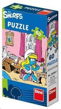 DINO Puzzle Šmoulové: Šmoulinka 60 dílků
