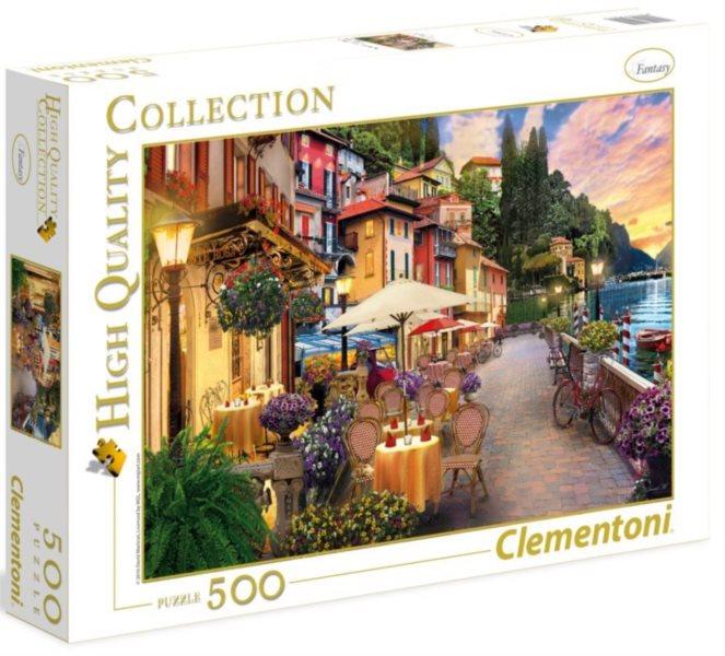CLEMENTONI Puzzle Snění v Monte Rosa 500 dílků