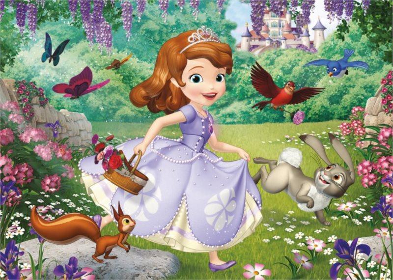 Podlahové puzzle pro děti DINO -Sofie v parku - 24 dílků