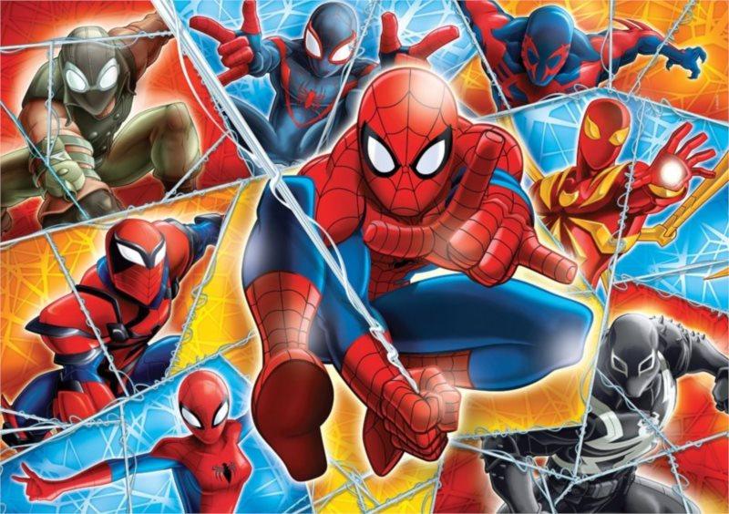 CLEMENTONI Puzzle Spiderman: Bojovníci MAXI 24 dílků