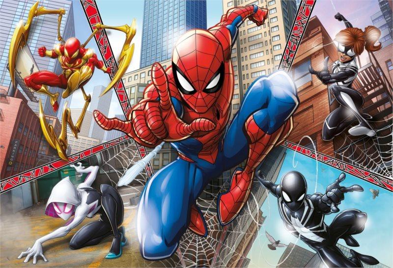 CLEMENTONI Puzzle Spiderman MAXI 104 dílků