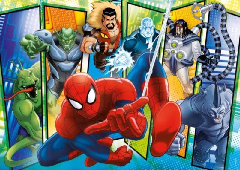 CLEMENTONI Puzzle Spiderman: Sinister 6 60 dílků