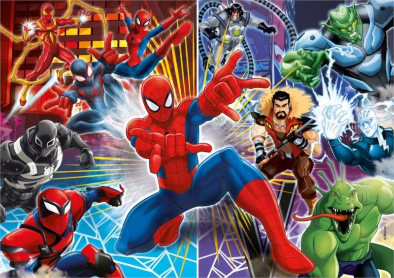 CLEMENTONI Puzzle Spiderman: Sinister 6, 60 dílků