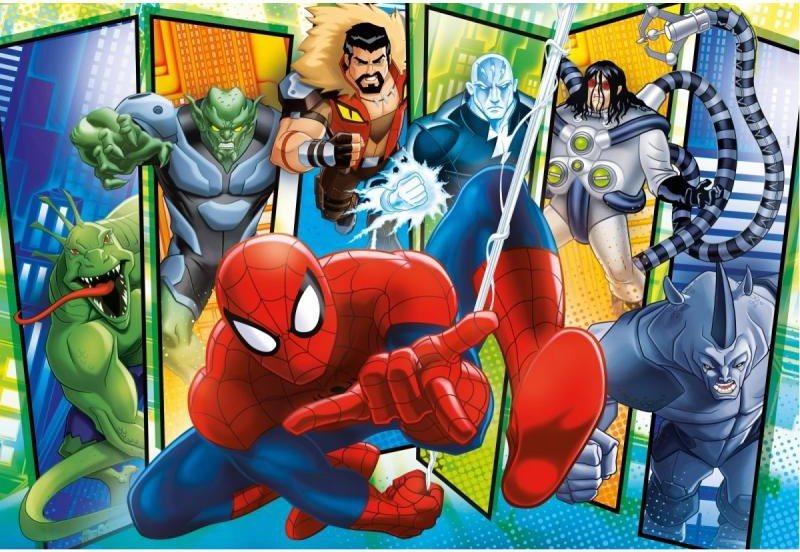 CLEMENTONI Puzzle Spiderman: Sinister 6 MAXI 100 dílků