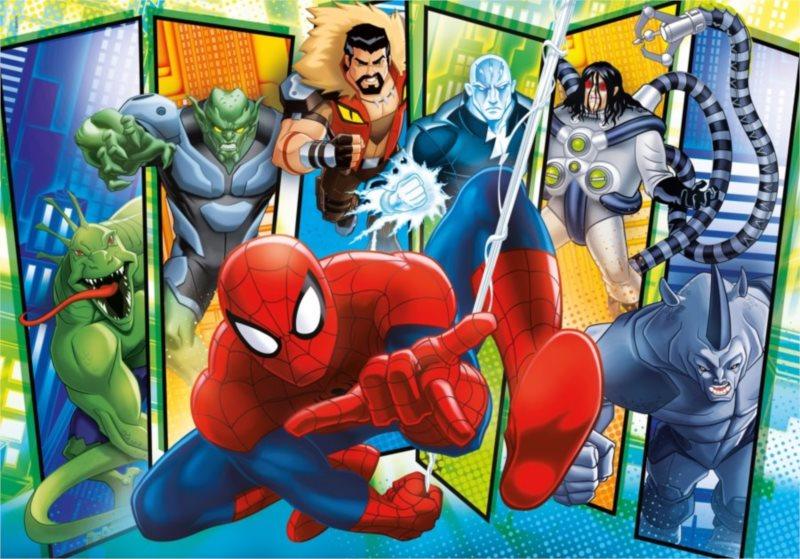 CLEMENTONI Puzzle Spiderman: Sinister 6 MAXI 104 dílků