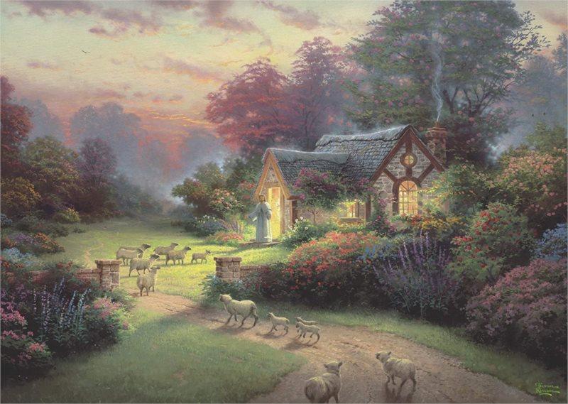 SCHMIDT Puzzle Spirit: Pastýřská chata 1000 dílků