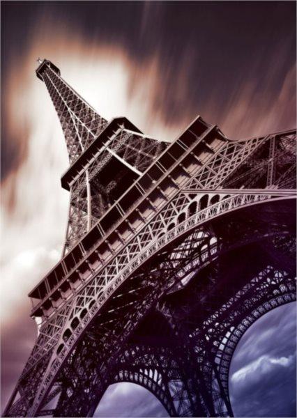Puzzle ART PUZZLE 4599 Eiffelova věž zespodu 1500 dílků