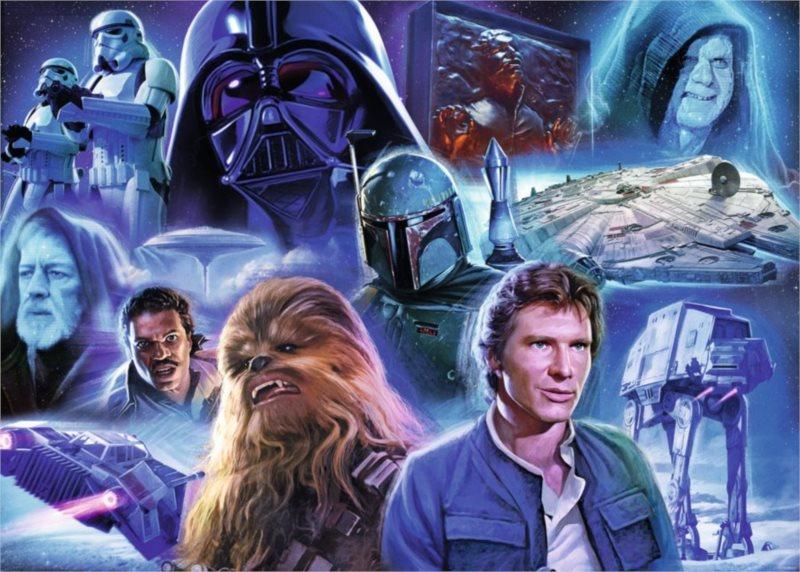 RAVENSBURGER Puzzle Star Wars: Limitovaná edice III. 1000 dílků