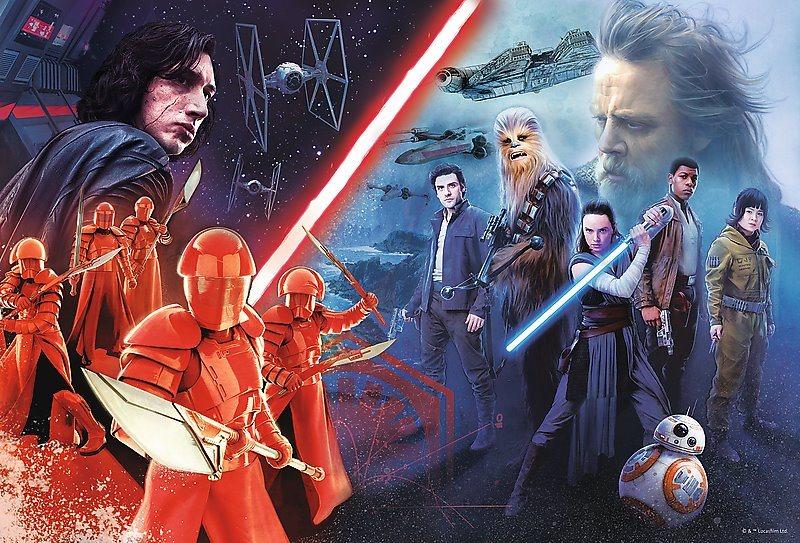 TREFL Puzzle Star Wars: Poslední z Jediů 160 dílků