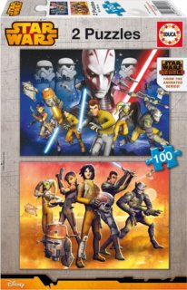 EDUCA Puzzle Star Wars: Rebels 2x100 dílků