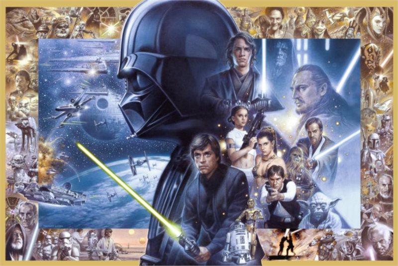 RAVENSBURGER Puzzle Star Wars Sága 5000 dílků