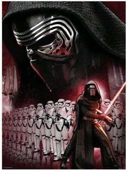 RAVENSBURGER Puzzle Star Wars: Síla se probouzí 500 dílků
