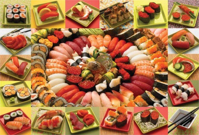COBBLE HILL Puzzle Sushi 2000 dílků