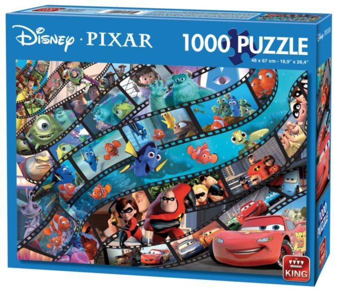 KING Puzzle Svět Disney Pixar 1000 dílků