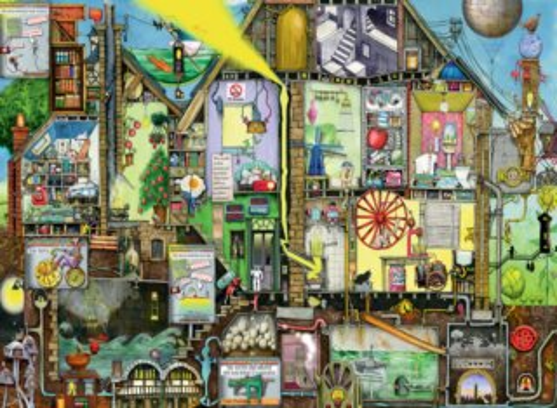 RAVENSBURGER Puzzle Svět zítřka 500 dílků
