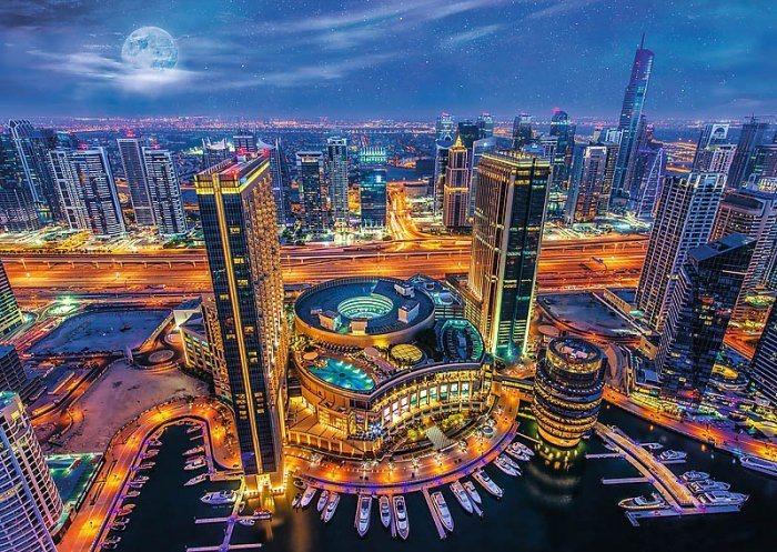TREFL Puzzle Světla Dubaje 2000 dílků