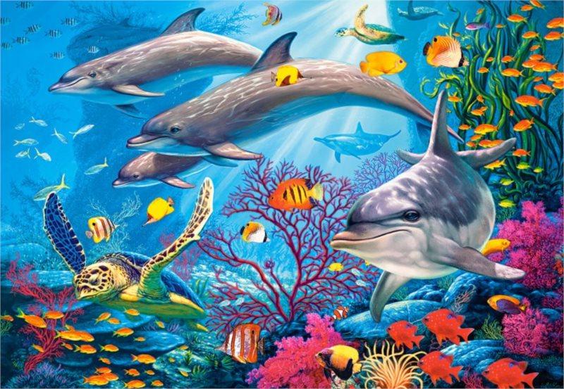 CASTORLAND Puzzle Tajemství útesu 1500 dílků