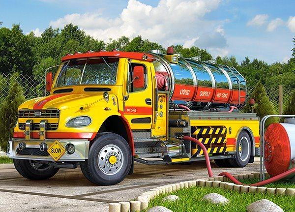 CASTORLAND Puzzle Tankovací cisterna 120 dílků