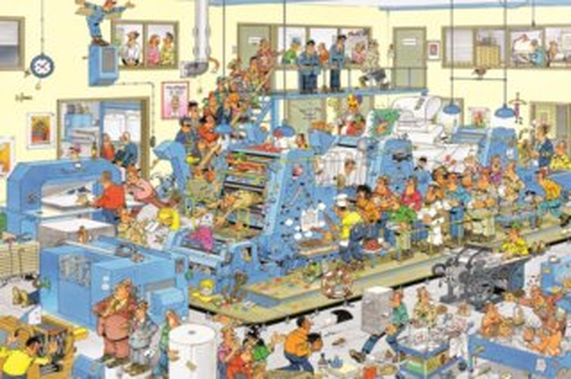 JUMBO Puzzle Tiskárna 1500 dílků