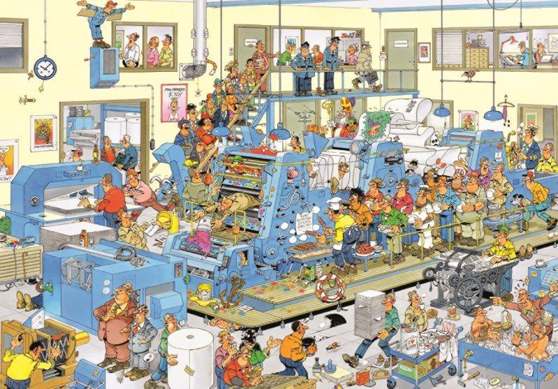 JUMBO Puzzle Tiskárna 3000 dílků