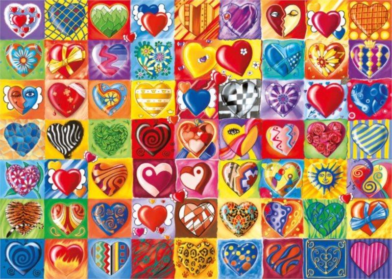 Puzzle SCHMIDT 1000 dílků - Tlukot srdce